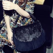 Vivi Leather Tassel Bag&Sling Bag