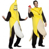 Funny Banana Clothing Halloween Costume Performance Clothing