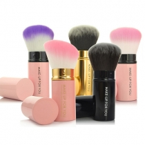Functional Scalable Blusher Cosmetic Brushes
