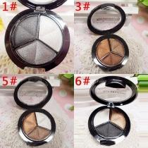 3 Mixed Colors Cosmetic Eye Shadow