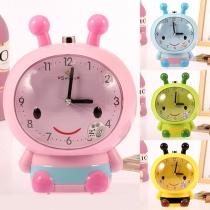 Cartoon Style Mute Prompt Tone Luminous Children Alarm Clock