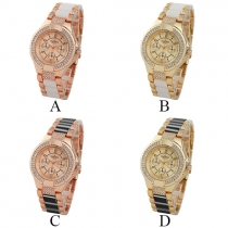 Fashion All-match Round Dial Quartz Watch