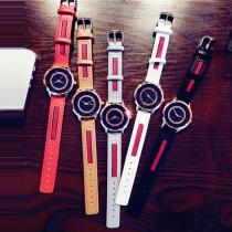 Fashion Simple Round Dial Quartz Watch