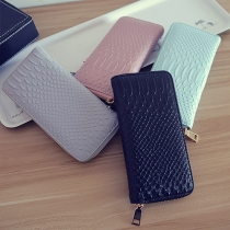 Fashion Solid Color Clutch Wallet For Women