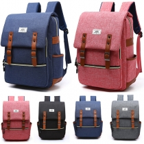 Fashion Contrast Color Outdoor Traveling Backpack