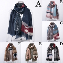 Fashion Tie-dye Printed Scarf