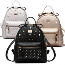 Punk Style Rivets Backpack