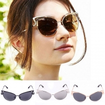 Fashion Hollow Out Cat's Eyes Shaped Sunglasses