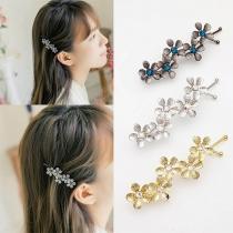 Fresh Style Flower Shaped Hair Pin