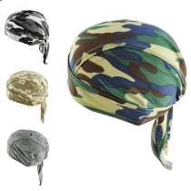 Hip-pop Style Camouflage Printed Pirate Hat