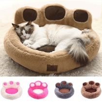 Cute Style Detachable Bear's Claw Shaped Bed for Pets