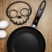 Creative Style Skull Head Shaped Fried Egg Mold