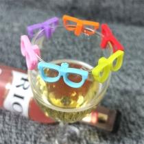 Creative Style Glasses Shaped Drink Maker 6 pcs/Set