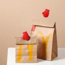 Creative Style Glove-shape Food Bag Clip Sealing Clips 2 Pair/Set