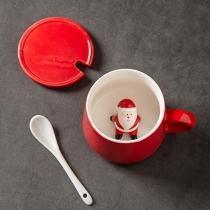 Cute Style 3D Cartoon Pattern Ceramic Mug