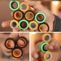 Magnet Toys Stress Relief Magnetic Ring