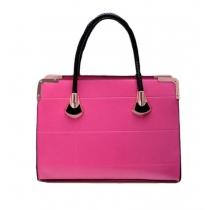 Gorgeous Pure Candy Color Rectangle Handbag