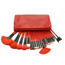 Beauty Makeup Brushes Cosmetic 24pcs Set with Case