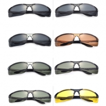 Sports Style Frameless Anti-UV Outdoor Cycling Fishing Men's Sunglasses