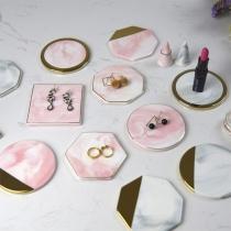 Hot Sale Geometrical Shape Ceramic Cup Mat Insulation Mat