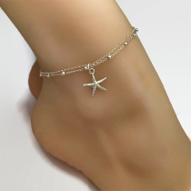 Fashion Starfish Pendant Anklet