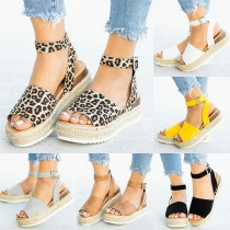 Fashion Thick Heel Peep Toe Sandals