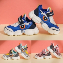 Contrast Color Anti-slip Soft Sole Breathable Baby Toddler Shoes Sneakers