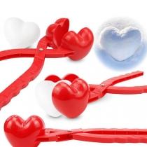 Heart Snowball Maker Love heart Snowball Clip Toy
