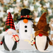 Cute Style Christmas Doll Home Decorations